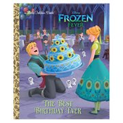 Frozen Fever The Best Birthday Ever Little Golden Book