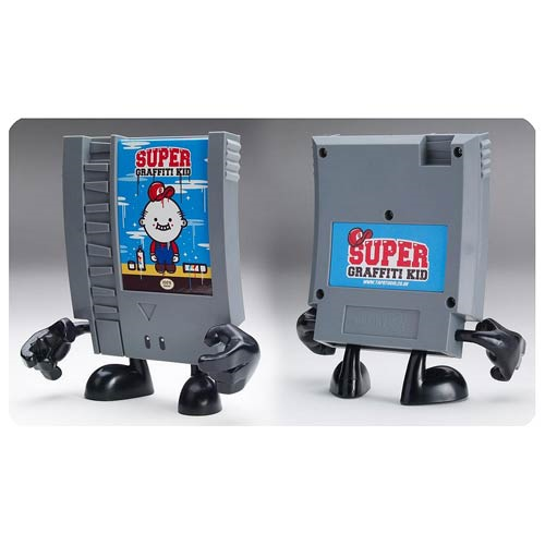 10-Doh! Super Graffiti Boy Video Game Cartridge Vinyl Figure