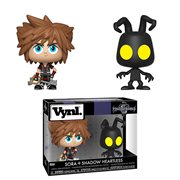 Kingdom Hearts 3 Sora and Heartless Vynl. Figure 2-Pack
