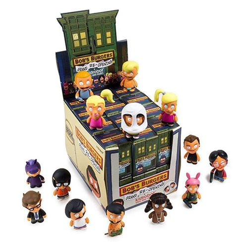 Bob's Burgers Mini Series 2 Mini-Figures Display Tray