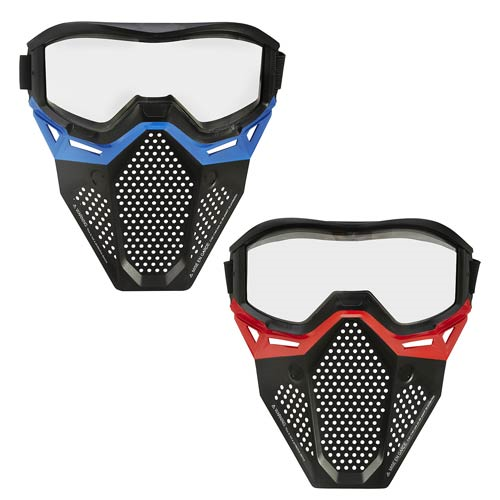 Nerf Rival Face Masks Red and Blue Mask Set