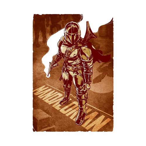 Star Wars: The Mandalorian This Is The Way by Chris Kawagiwa Lithograph Art Print