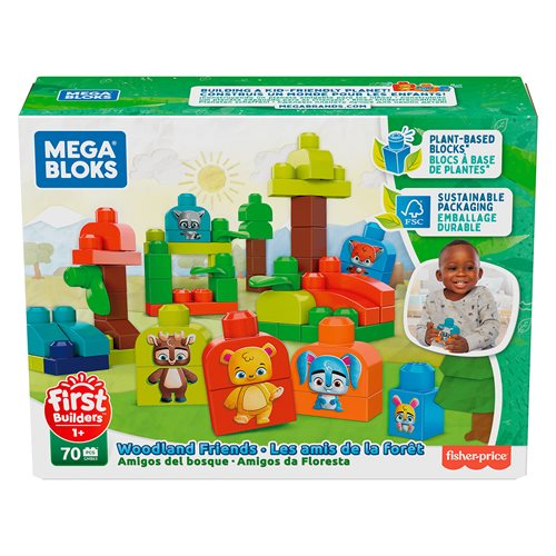 Mega Bloks Eco-Friends Forest Friends