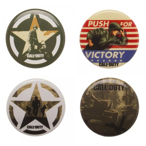 Call of Duty: WWII Button 4-Pack