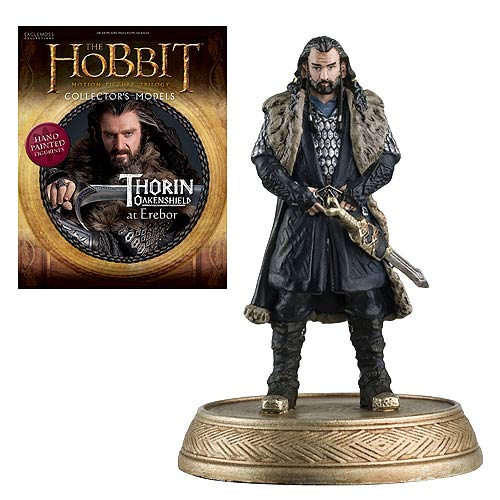 The Hobbit Thorin Oakenshield Figure with Collector Magazine #2