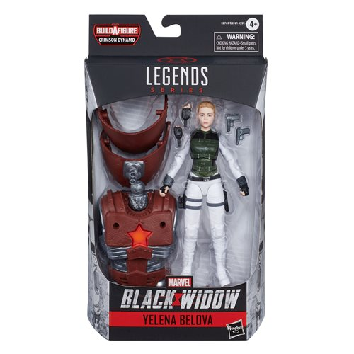 Black Widow Marvel Legends 6-Inch Yelena Bolova Action Figure