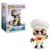 Little Mermaid Chef Louis  Pop! Vinyl Figure