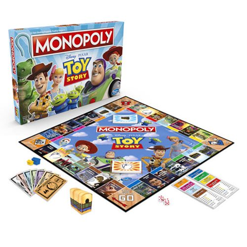 Toy Story Monopoly Board Game
