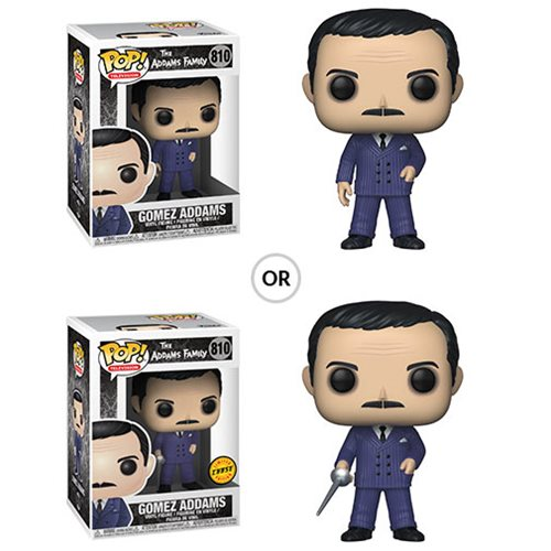 The Addams Family Gomez Pop! Vinyl Figure, Not Mint