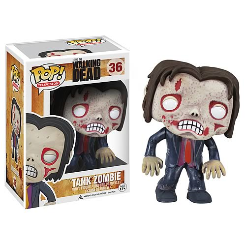 Walking Dead Tank Zombie Pop! Vinyl Figure