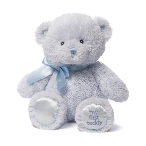 My 1st Teddy Bear Blue 10-Inch Plush