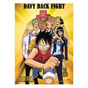 One Piece Davy Fights Back Wall Scroll