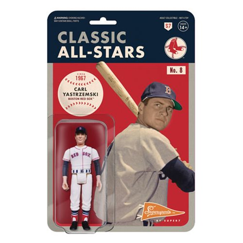 Major League Baseball Classic Carl Yastzremski (Boston Red Sox) ReAction Figure