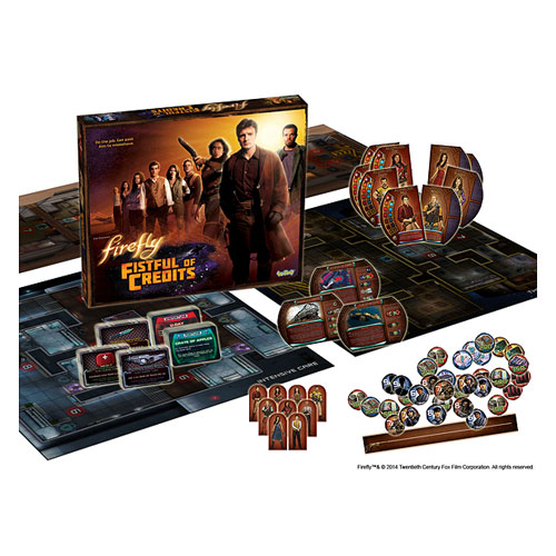 Firefly Fistful of Credits Board Game