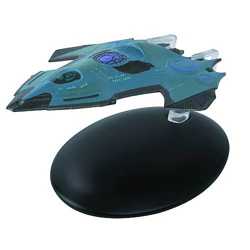 Star Trek Starships USS Relativity Vehicle with Collector Magazine
