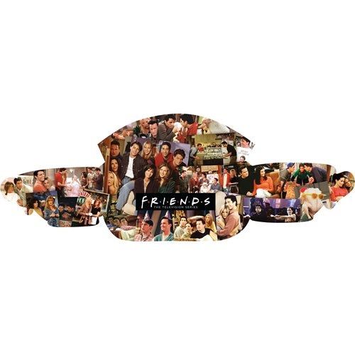 Friends Central Perk and Collage 2-Sided 600-Piece Puzzle
