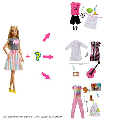 Barbie Surprise Careers Doll and Accessories 1