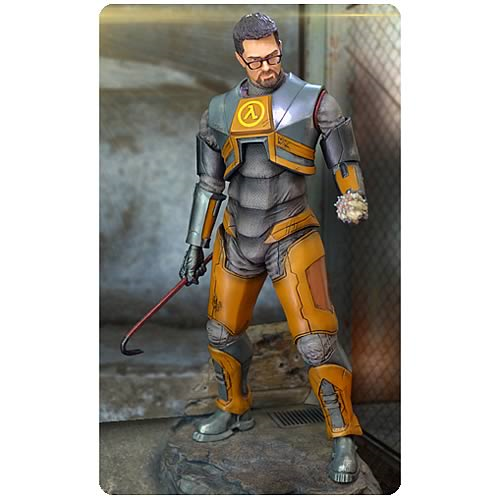 Half Life 2 Gordon Freeman 1 4 Scale Statue