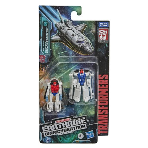 Transformers War for Cybertron Earthrise Micromasters Astro Squad Fuzer and Blast Master