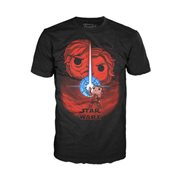 Star Wars: The Last Jedi Movie Poster Pop! Black T-Shirt