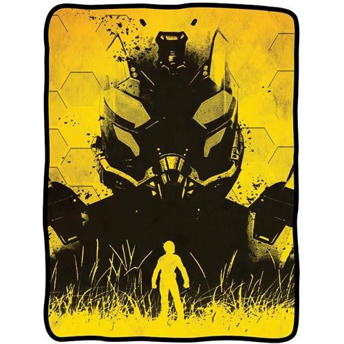 Ant-Man Yellowjacket Fleece Throw Blanket