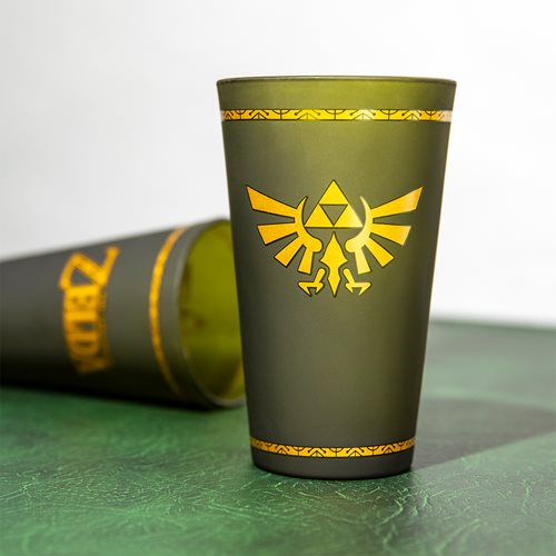 Legend of Zelda Hyrule Crest Glass