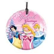 Disney Princesses Yuletide Greetings Hanging StarFire Print