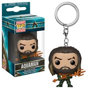 Aquaman Arthur Curry Pocket Pop! Key Chain