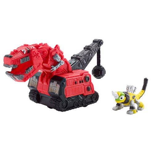 Dinotrux Ty Rux and Revvit Vehicle 2-Pack