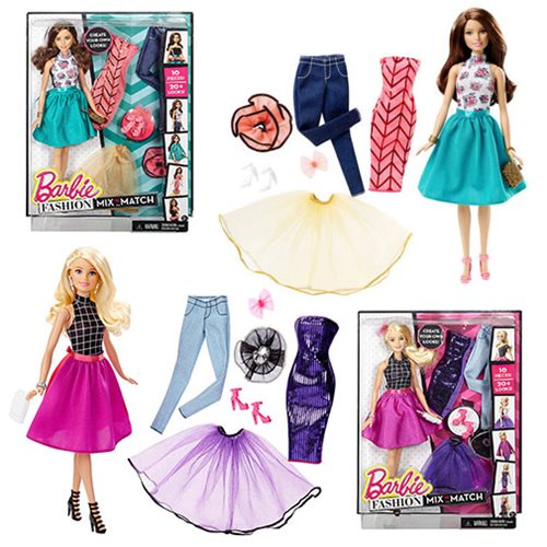 Barbie Fashion Mix and Match Doll Case
