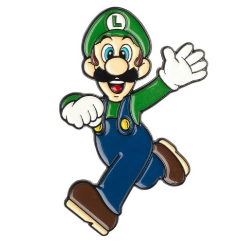 Luigi Hello Lapel Pin