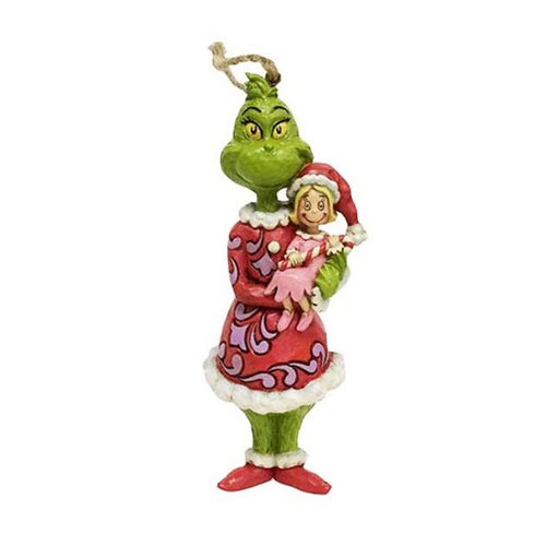 Dr. Seuss The Grinch Grinch Holding Cindy Lou Ornament by Jim Shore