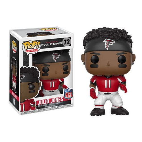 NFL Julio Jones Falcons Home Wave 4 Pop! Vinyl Figure #72