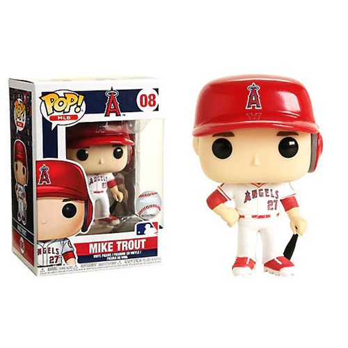 MLB Mike Trout Pop! Vinyl Figure