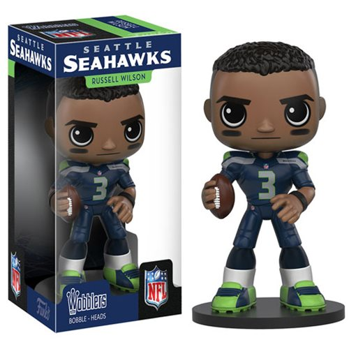 NFL Russell Wilson Bobble Head