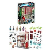 Playmobil 9219 Ghostbusters Firehouse Playset