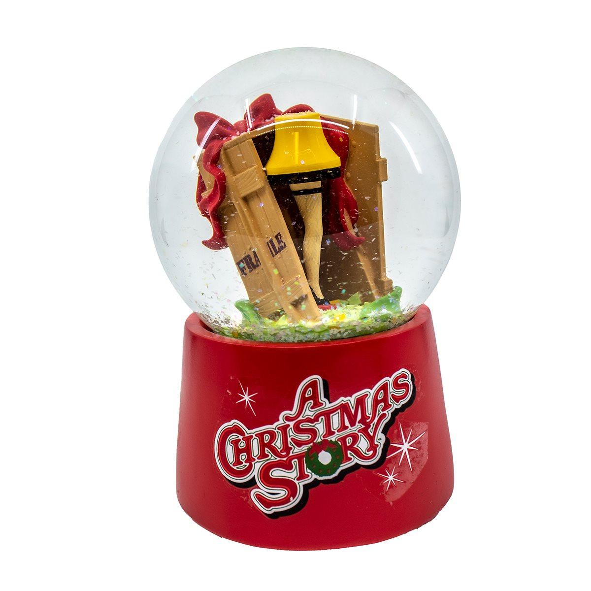 A Christmas Story Leg Lamp Musical Water Globe