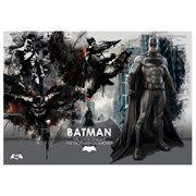 Batman V Superman Dawn Of Justice Superman Poster Wood