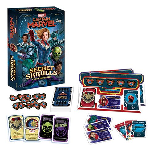 Captain Marvel: Secret Skrulls Game
