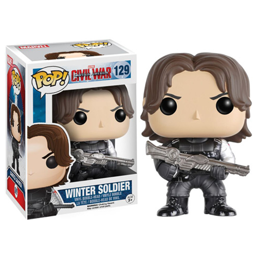 Captain America: Civil War Winter Soldier Pop! Vinyl Figure, Not Mint