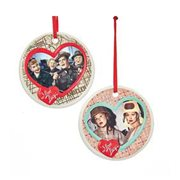 I Love Lucy Porcelain Disc Ornament Case