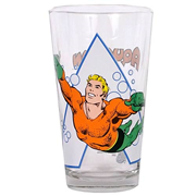 Aquaman Toon Tumbler Pint Glass