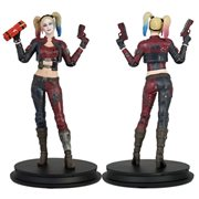 DC Injustice Harley Quinn Red Costume Deluxe Statue - Previews Exclusive