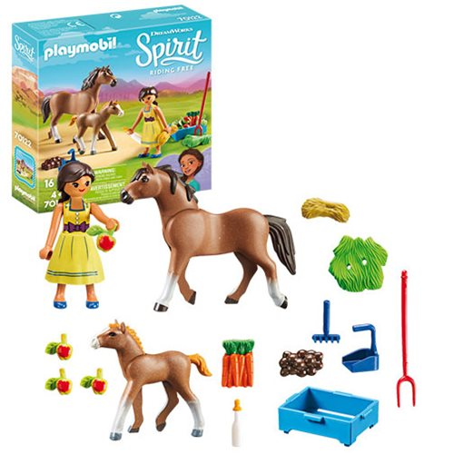 Playmobil 70122 Pru with Horse and Foal