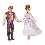 Frozen 2 Anna and Kristoff Fashion Dolls 2-Pack