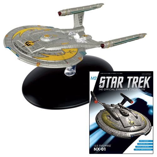 Star Trek Starships Special Mirror Universe Enterprise NX-01 Die-Cast Metal Vehicle with Collector Magazine #7