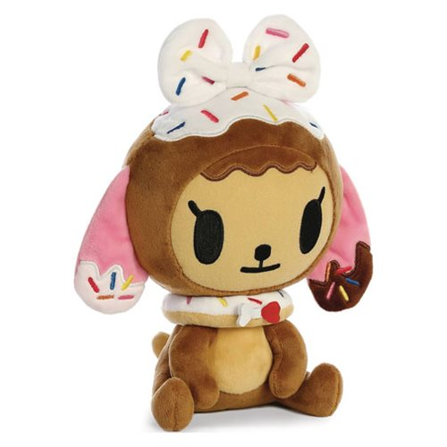 Tokidoki Donutella Tan Doggie 8 1/2-Inch Plush