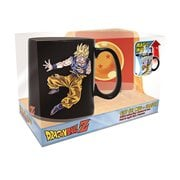 Dragon Ball Z Goku vs. Buu Heat-Change Mug and Coaster Gift Set