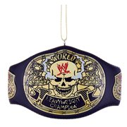 WWE Stone Cold Steve Austin Skull Champion Belt Ornament