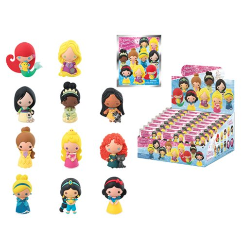 Disney Series 9 3-D Figural Key Chain 6-Pack